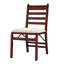 Ore International™ Set of 2 Folding Chairs