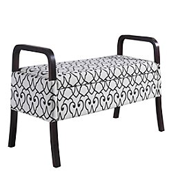 Ore International™ Rococo Wooden Storage Bench