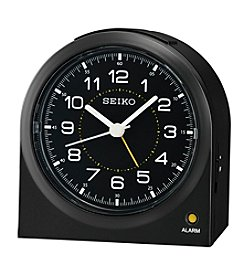 Seiko® Bedside Alarm Clock with Dial Light