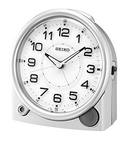 Seiko® Bedside Alarm Clock with Luminous Hands