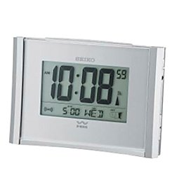 Seiko® Get Up and Glow R-Wave Bedside Clock