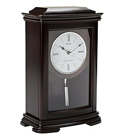 Seiko® Chime Mantel Clock with Pendulum