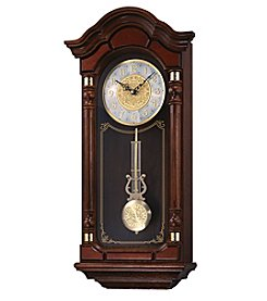 Seiko® Chime Wall Clock with Pendulum
