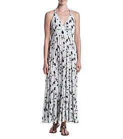 Philosophy by Republic Clothing Strappy Printed Maxi Dress