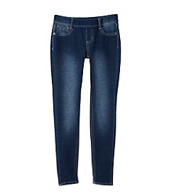 Miss Attitude Girls' 7-14 Pull On Denim Jeggings