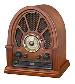 Victrola® Vintage Wooden Bluetooth® Radio with CD Player