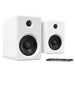 Innovative Technology Rechargeable Bluetooth® Wireless 50W Bookshelf Speakers