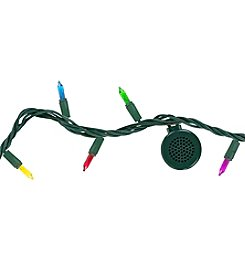 Bright Tunes Indoor/Outdoor Multicolor Incandescent String Lights with Bluetooth® Speakers
