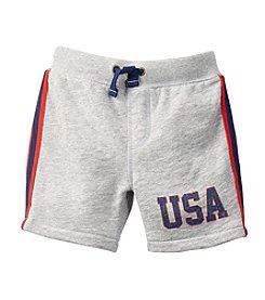Carter's® Boys' 2T-7 USA Terry Shorts