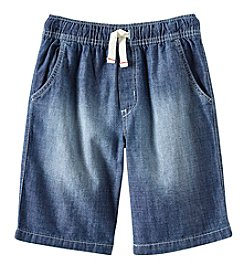 Carter's Boys' 4-7 Chambray Denim Shorts