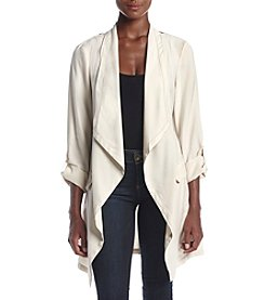 Jones New York® Drapey Twill Jacket