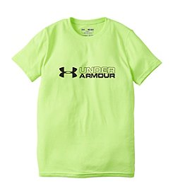 Under Armour® Boys' 8-20 Short Sleeve Duo Logo Tee