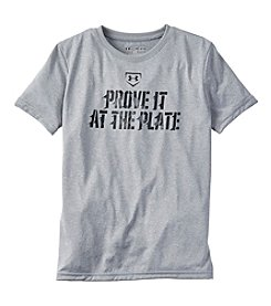 Under Armour® Boys' 8-20 Short Sleeve Prove It At The Plate Tee