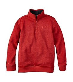 Under Armour® Boys' 8-20 Long Sleeve Fleece Sweater
