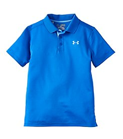 Under Armour® Boys' 8-20 Short Sleeve Performance Polo Tee