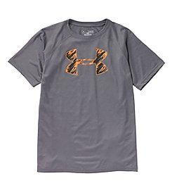 Under Armour® Boys' 8-20 Short Sleeve Tech Logo Tee