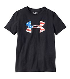 Under Armour® Boys' 8-20 Short Sleeve Americana Pride Tee