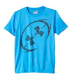 Under Armour® Boys' 8-20 Short Sleeve Football Logo Tee