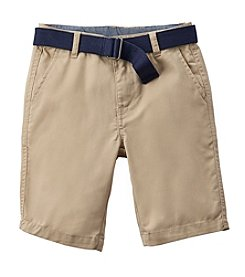 Chaps® Boys' 4-7 Belted Shorts
