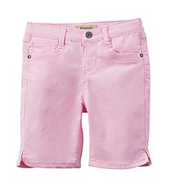 Squeeze® Girls' 2T-6X Contoured Back Bermuda Shorts