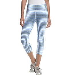 Tommy Hilfiger® Skipper Stripe High Waisted Crop Leggings