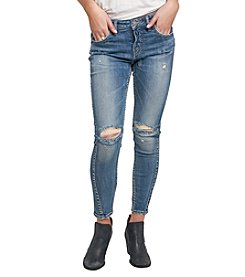 Silver Jeans Co.® Slouchy Ankle Skinny Jeans