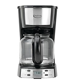 Betty Crocker 12 Cup Stainless Steel Coffee Maker