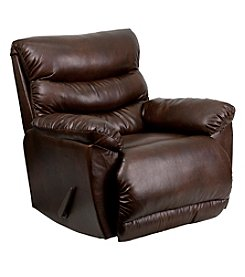 Flash Furniture Contemporary Tonto Bonded Leather Rocker Recliner