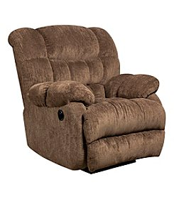 Flash Furniture Contemporary Columbia Microfiber Power Recliner with Push Button