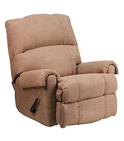 Flash Furniture Contemporary Victory Lane Fabric Rocker Recliner