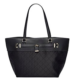 Calvin Klein Quilted Nylon Tote
