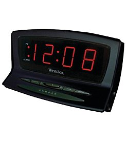 Westclox Instant Set LED Alarm Clock