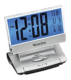 Westclox Electric LCD display USB Charging Alarm Clock