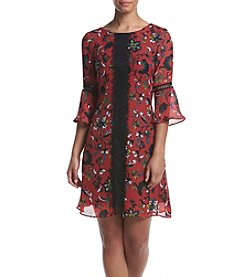 Gabby Skye® Floral Print Dress