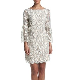 Jessica Howard® Embroidered Lace Dress
