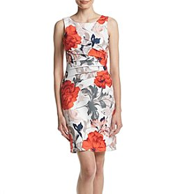 Ivanka Trump® Starburst Seam Printed Dress