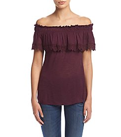Hippie Laundry Off Shoulder Popover