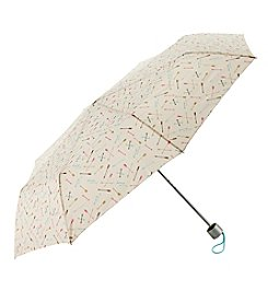 Tricoastal White Print Umbrella