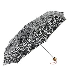 Tricoastal Black Dot Print Umbrella