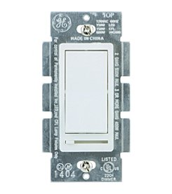 GE Single Pole Rocker Style Dimmer