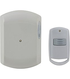 GE Portable Door Chime with Wireless Doorbell Button