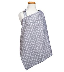 Trend Lab Grey Diamond Nursing Cover