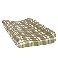 Trend Lab Plaid Deluxe Flannel Changing Pad Cover