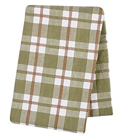 Trend Lab Plaid Deluxe Flannel Swaddle Blanket