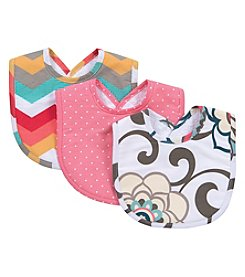 Waverly® Baby by Trend Lab Pom Pom Play 3 Pack Bib Set