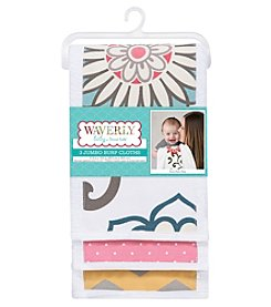Waverly® Baby by Trend Lab Pom Pom Play 3 Pack Jumbo Burp Cloth Set