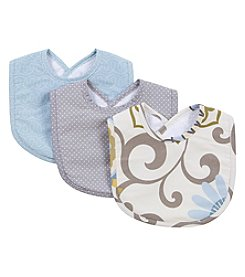 Waverly® Baby by Trend Lab Pom Pom Spa 3 Pack Bib Set