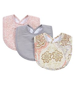 Waverly® Baby by Trend Lab Rosewater Glam 3 Pack Bib Set