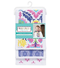 Waverly® Baby by Trend Lab Santa Maria 3 Pack Jumbo Burp Cloth Set