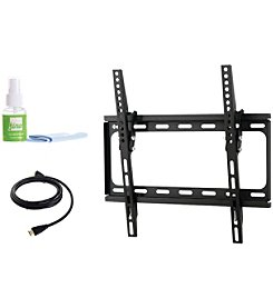 Fino Medium Tilt Mount with HDMI Cable & Screen Cleaner